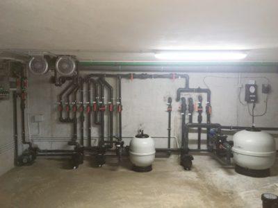 Filtración De Piscinas, Jacuzzi Y Cloración Salina