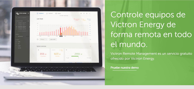 victron control remoto