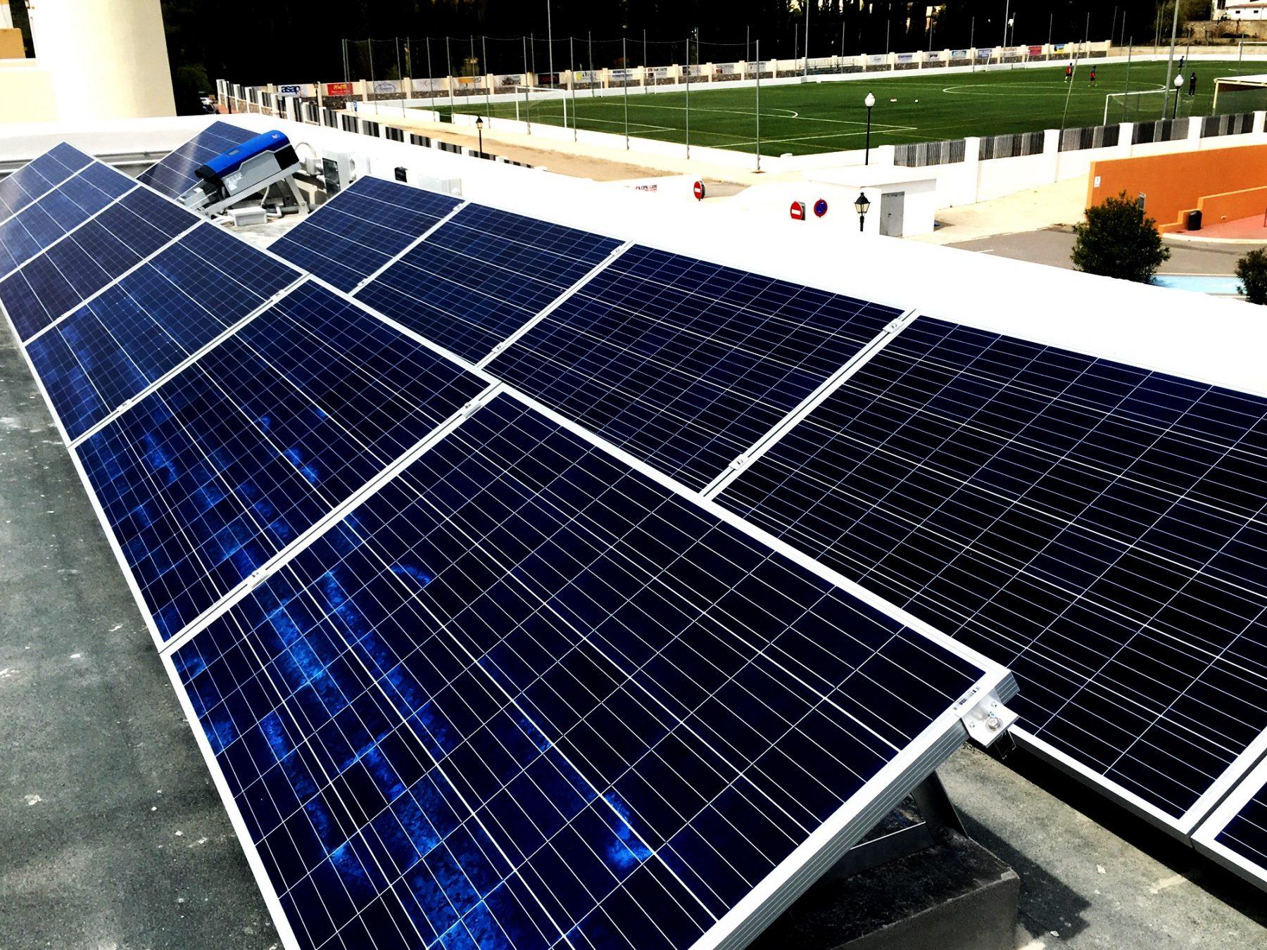 Paneles Solares Instalación IMBA